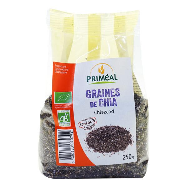 Graines de chia BIO, Priméal (250 g)