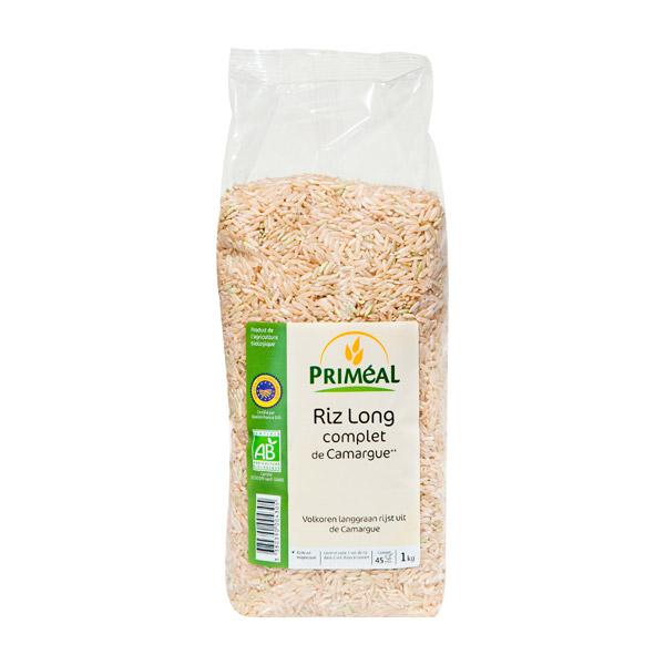Riz long complet de Camargue BIO, Priméal (1 kg)