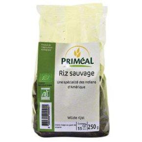 Riz noir sauvage BIO, Priméal (250 g)