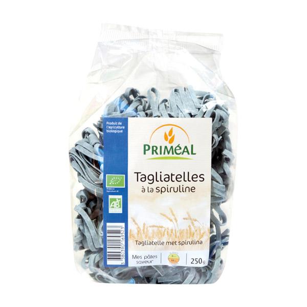 Tagliatelles à la spiruline BIO, Priméal (250 g)