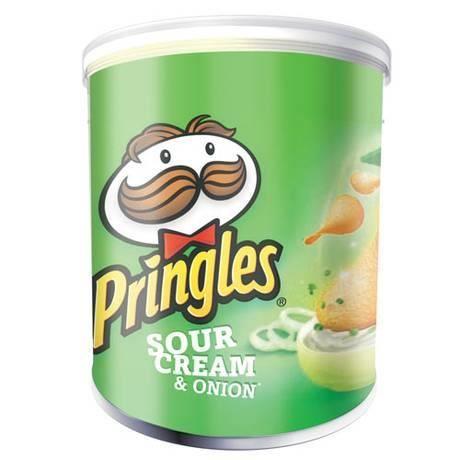 Mini chips Crème Oignon,  Pringles (40 g)