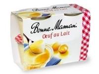 Oeufs au lait Bonne Maman (4 x 100 g)