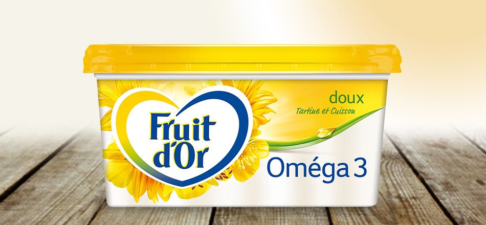 Margarine doux, Fruit d'Or (510 g)