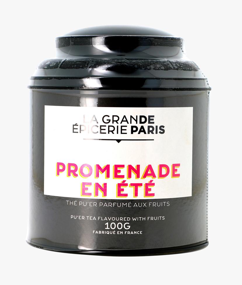 Promenade un été, thé Pu'Er aux fruits, La Grande Epicerie de Paris (100 g)
