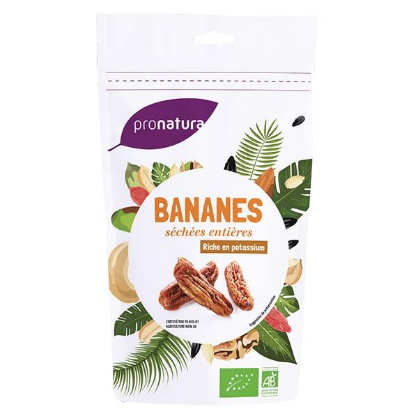 Banane séchée moelleuse entière Sri Lanka BIO, Pronatura (250 g)