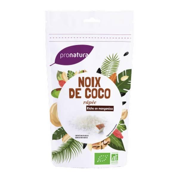 Noix de coco râpée Sri Lanka BIO, Pronatura (125 g)