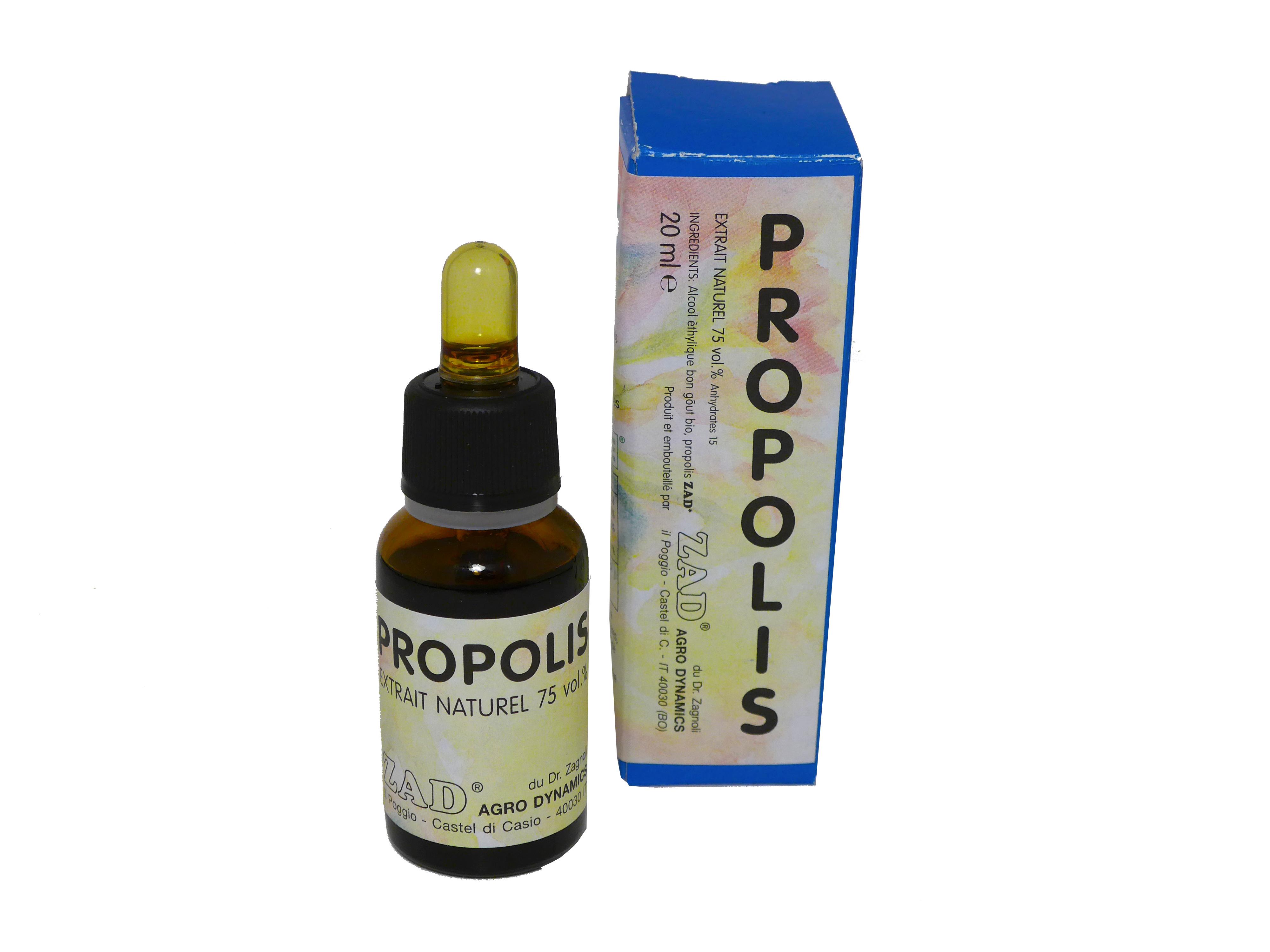 Extrait de propolis pur Bio, Agrodynamics (20 ml)