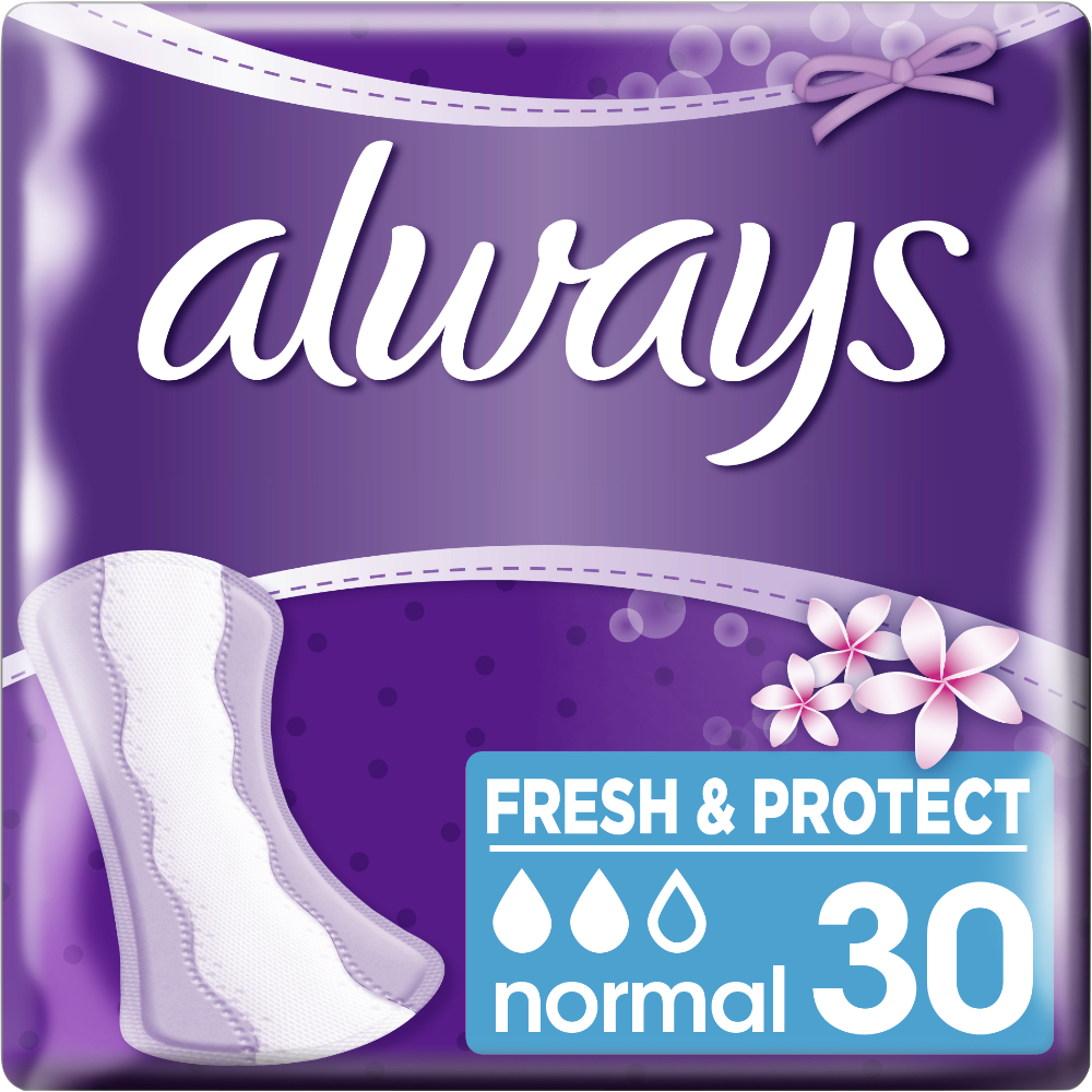 Protèges slip Fresh & Protect, Always (x 30)