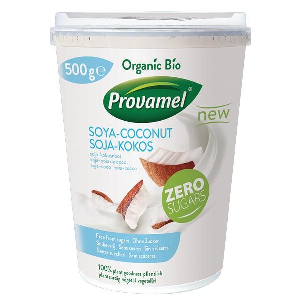 Soya Variation noix de coco sans sucres, Provamel Frais (500 g)