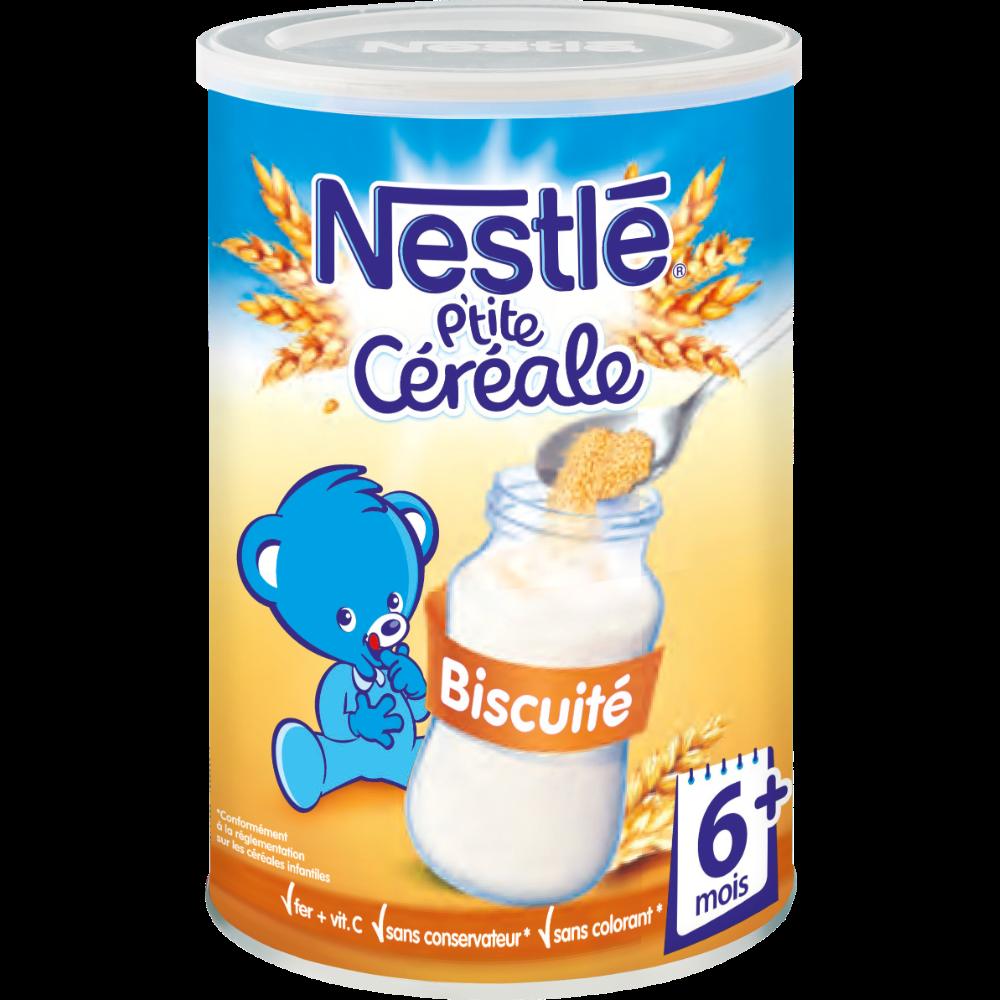 P'tite céréale aux 8 céréales biscuitée - dès 6 mois, Nestlé (400 g)