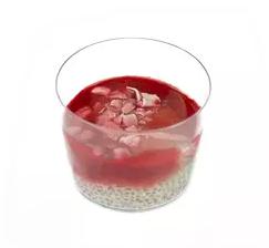 Pudding de graines de chia aux fruits rouges, Rachel's cake (180 ml)