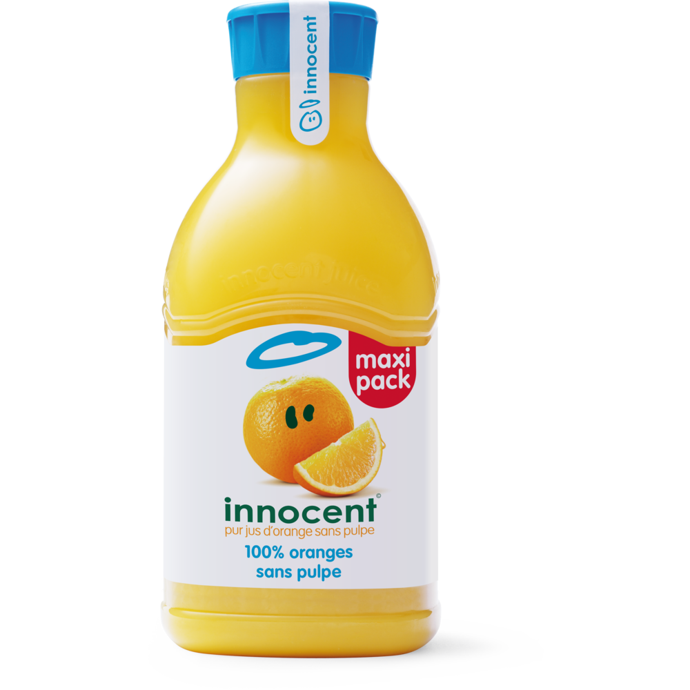 Jus d'orange sans pulpe frais, Innocent (1.5 L)