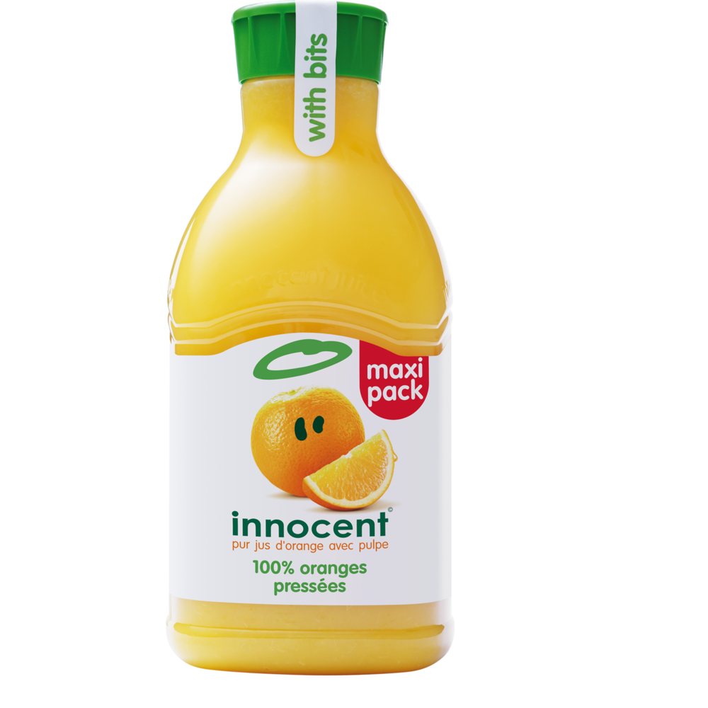 Jus d'orange avec pulpe frais, Innocent (1.5 L)