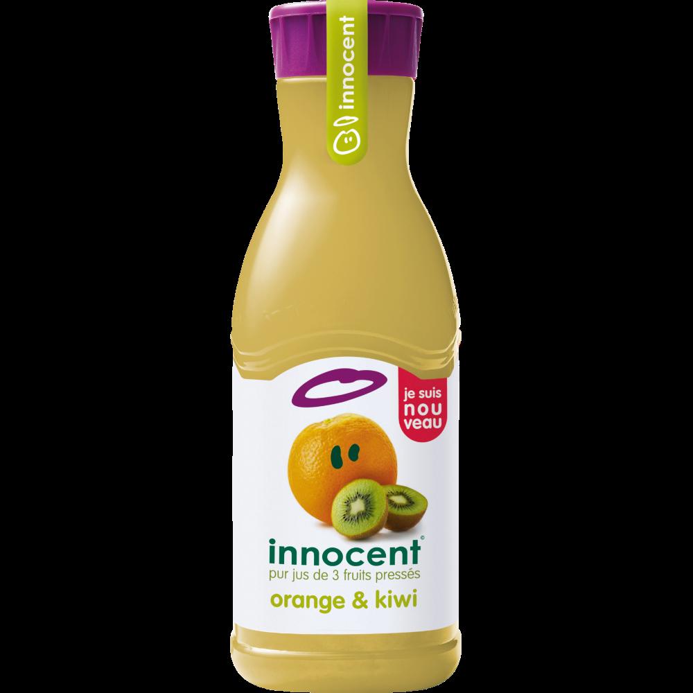 Pur jus réfrigéré d'oranges et kiwi, Innocent (900 ml)