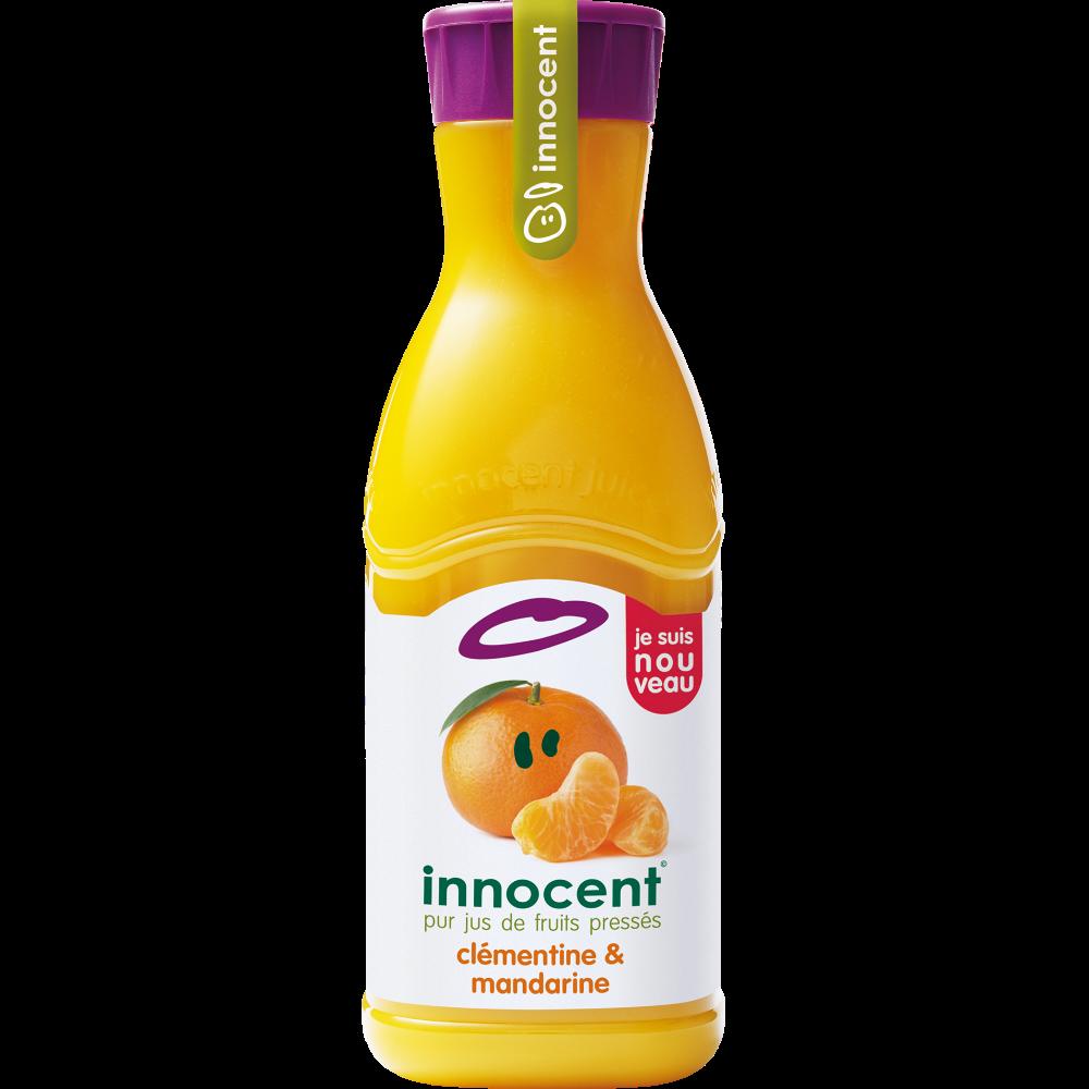Pur jus réfrigéré mandarine et clémentine pulpé, Innocent (900 ml)