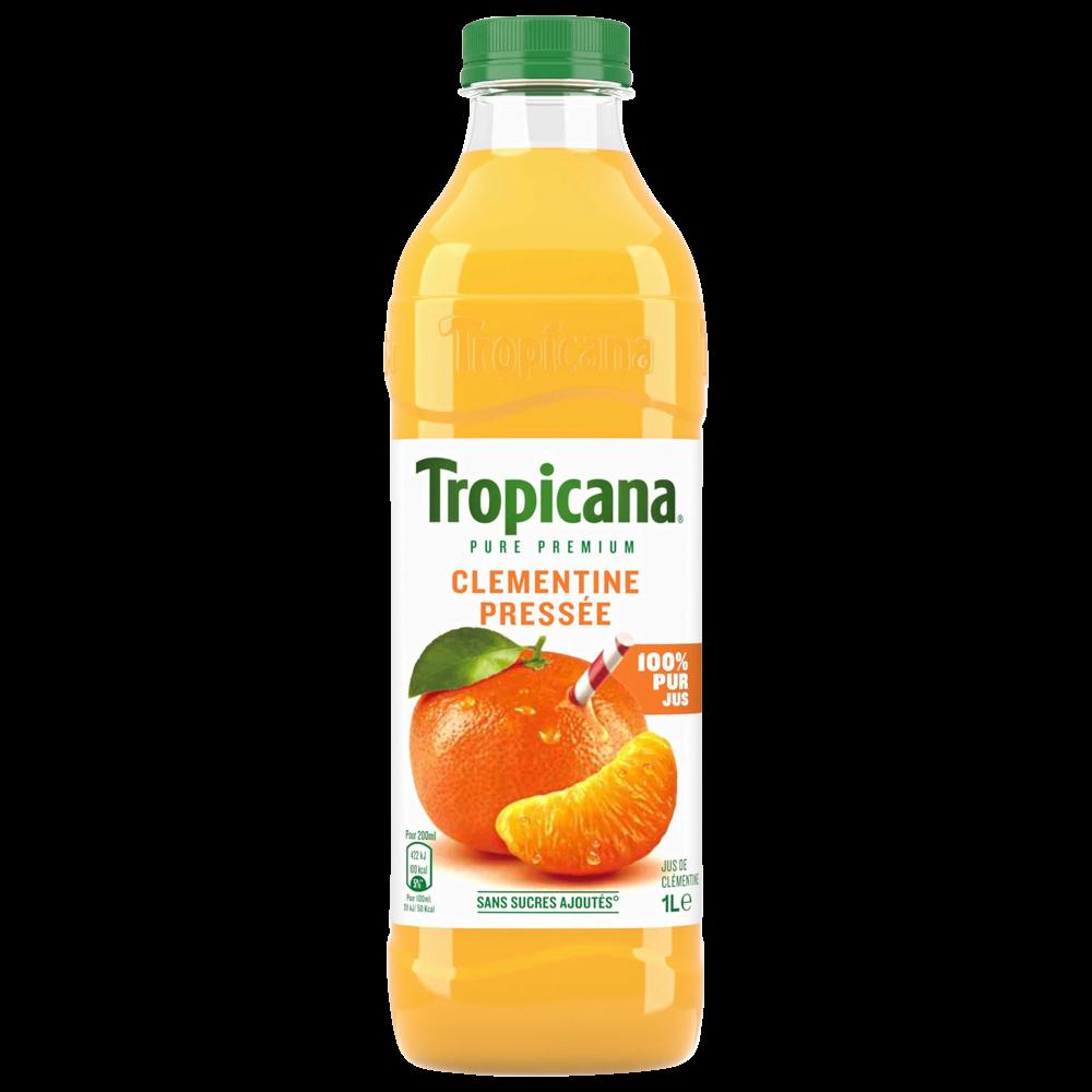 Jus Pure Premium clémentines pressées, Tropicana (1 L)