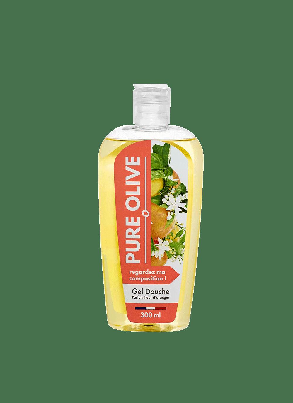 Gel douche Fleur d'oranger, Pure Olive (300 ml)