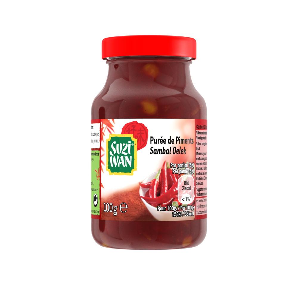 Purée de piments, Suzi Wan (100 g)