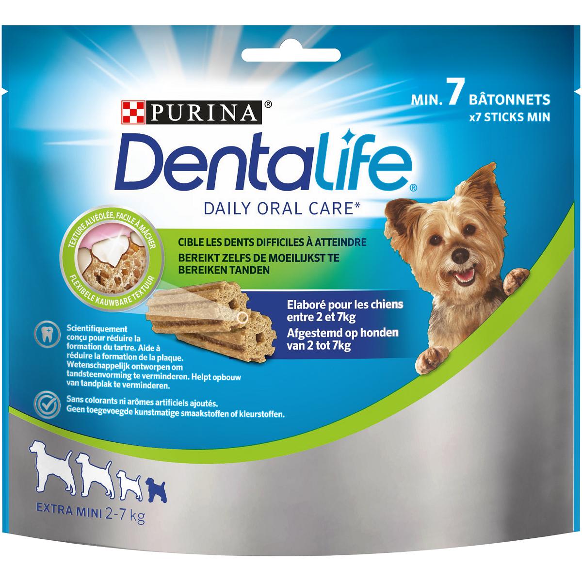 Friandise Dentalife Extra Mini, Purina (x 7)