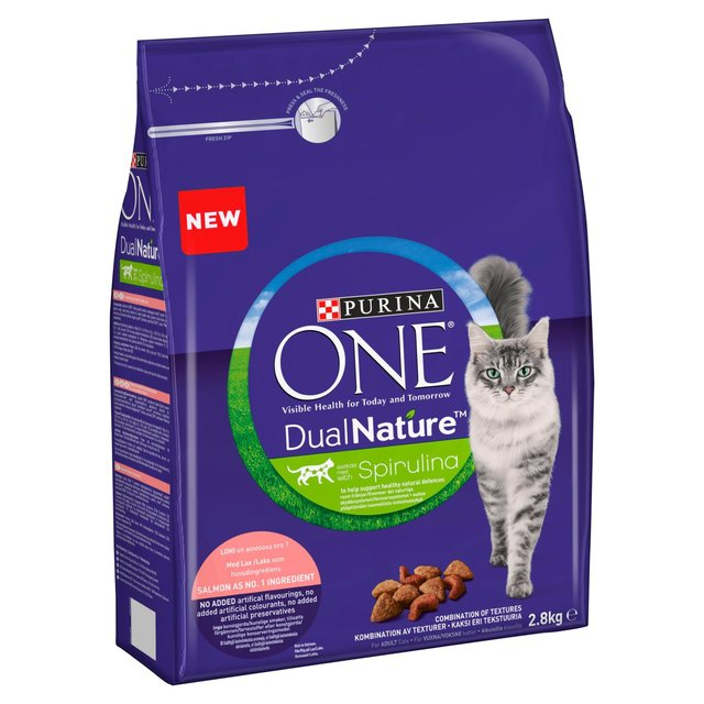 Croquette pour chat adulte au boeuf One Dual Nature (400 g)