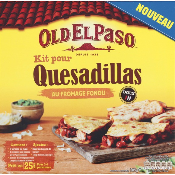 Kit pour quesadilla, Old El Paso (505 g)