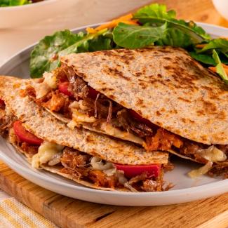 Quesadillas tortilla de maïs à la viande hâchée (x 3, 240 g)