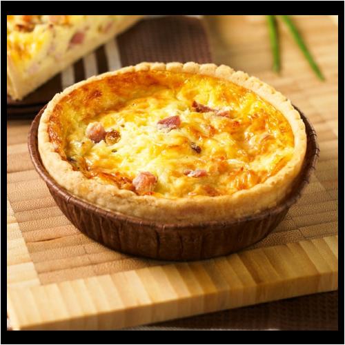 Quiche aux 3 fromages - cantal gruyère et comté, Hardouin (x 1)