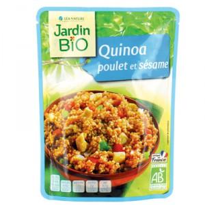 Quinoa émincé de poulet BIO, Jardin Bio (250 g)