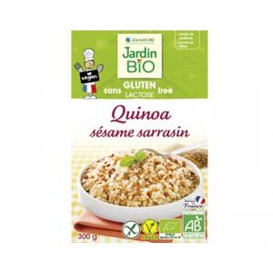 Quinoa sésame sarrasin sans gluten BIO, Jardin BIO (300g)