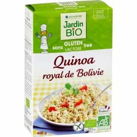 Quinoa royal de Bolivie sans gluten BIO, Jardin BIO (400 g)