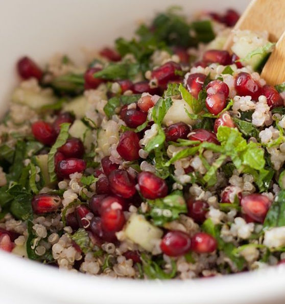 Kit Salade de quinoa, menthe, grenade