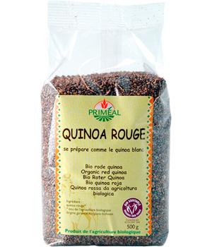 Quinoa rouge BIO, Primeal (500 g)