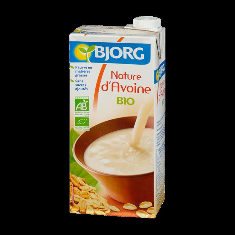 Pack de lait nature d'avoine BIO, Bjorg (6 x 1 L)