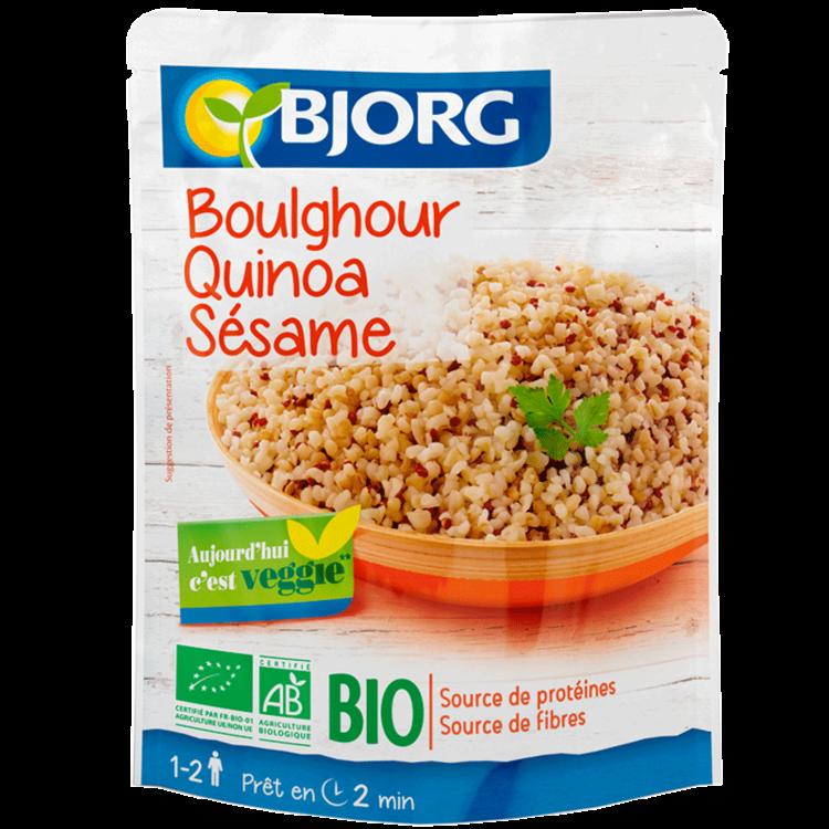 Quinoa, Boulgour, Sésame BIO, Bjorg (250 g)
