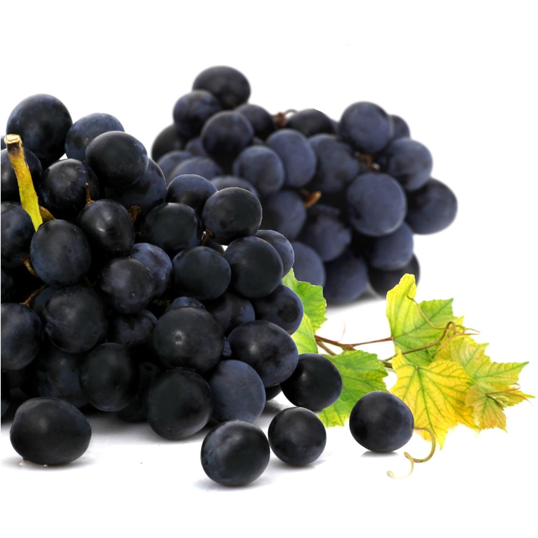 Raisin noir Muscat Fr. (Barquette de 750 g)