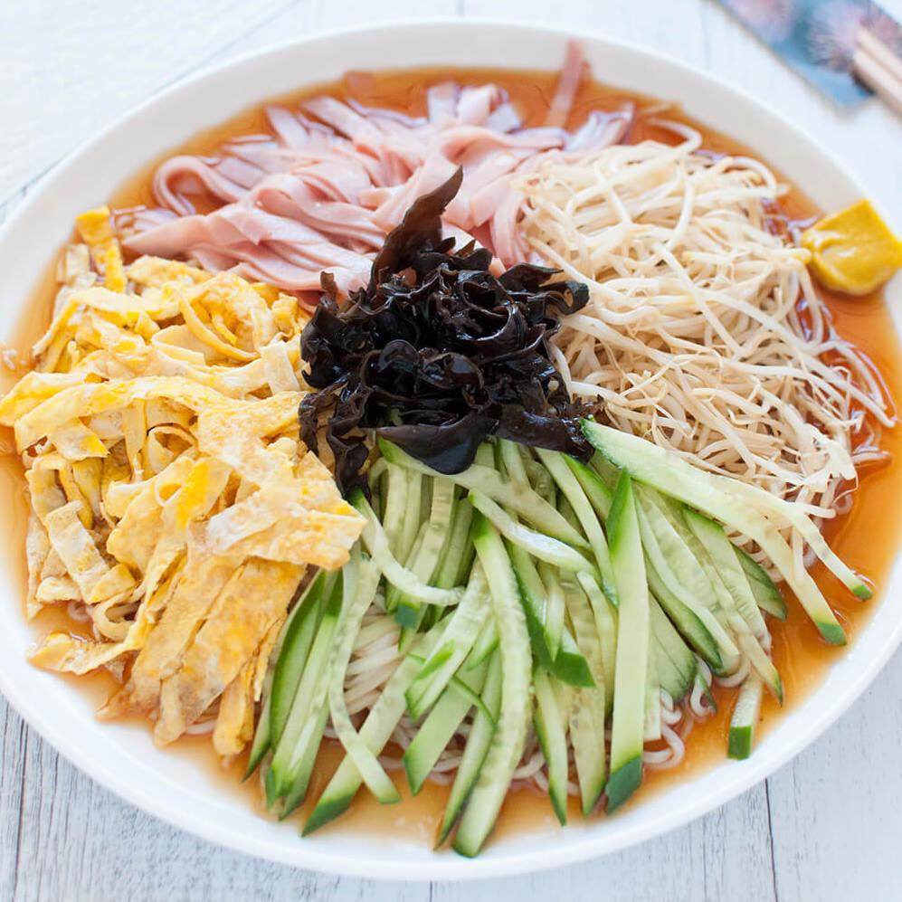 Ramen froid de nouille Hiyashi chukia végétarien (400 g)