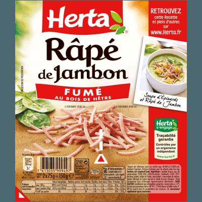 Rapé de jambon, Herta (2 x 75 g)