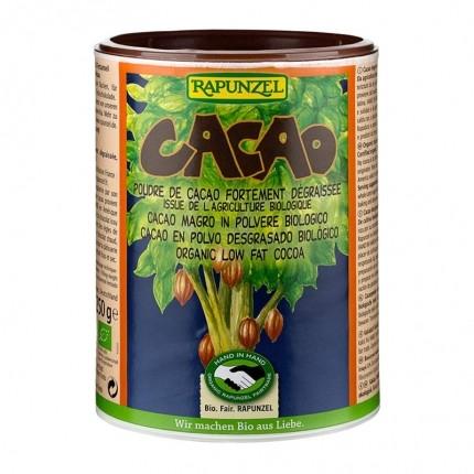 Poudre de cacao dégraissé BIO, Rapunzel (250 g)
