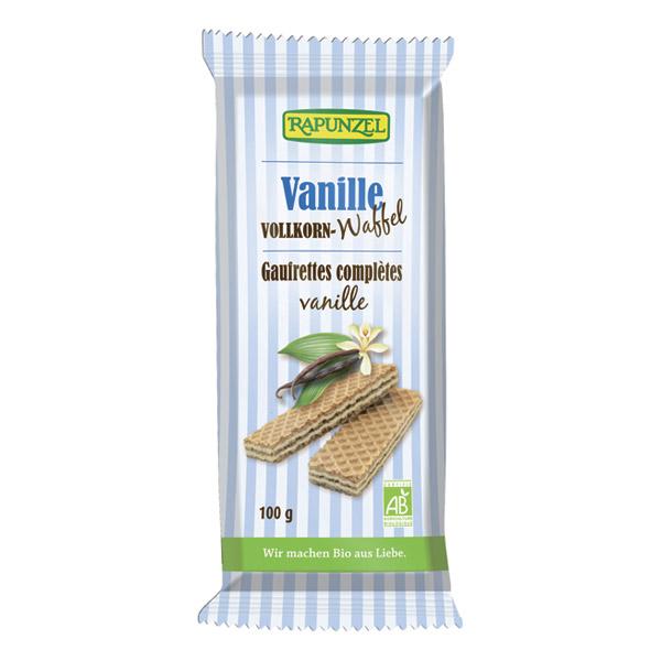 Gaufrettes à la vanille BIO, Rapunzel (100 g)