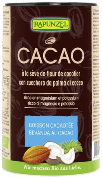 Cacao à la sève de fleur de cocotier BIO, Rapunzel (250 g)