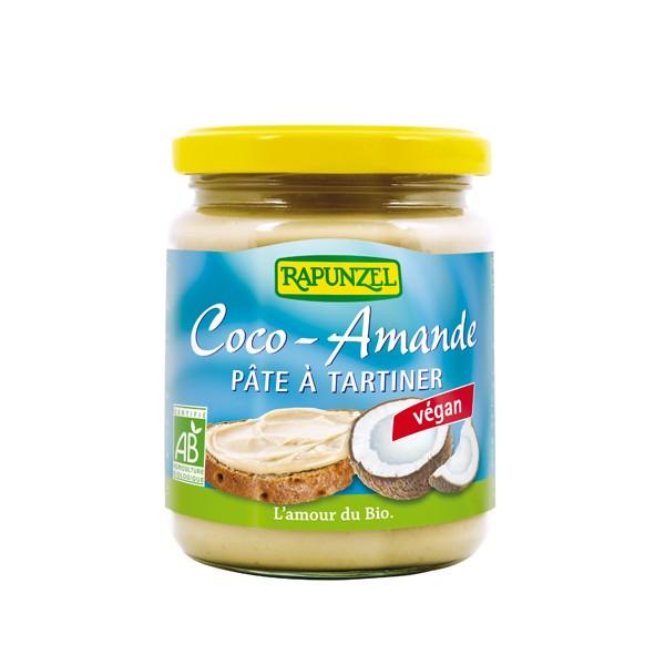 Pâte à tartiner noix de coco amande BIO, Rapunzel (250 g)