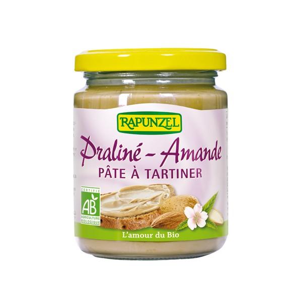 Pâte à tartiner praliné amande BIO, Rapunzel (250 g)