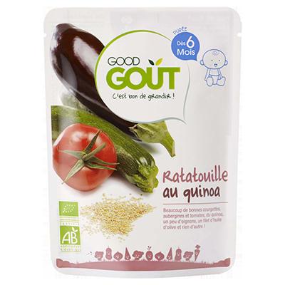 Ratatouille au quinoa BIO - dès 6 mois, Good Goût (190 g)