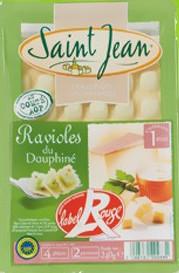 Ravioles du Dauphiné Label Rouge IGP, Royans (240 g)