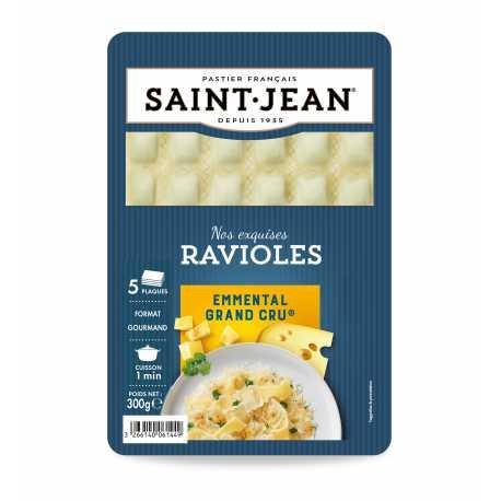 Ravioles à l'Emmental Grand Cru, Saint Jean (300 g)