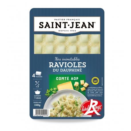 Ravioles du Dauphiné Label Rouge au comté AOP (240 g)