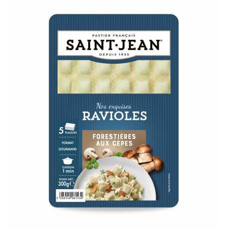 Ravioles forestières aux cèpes, Saint Jean (300 g)