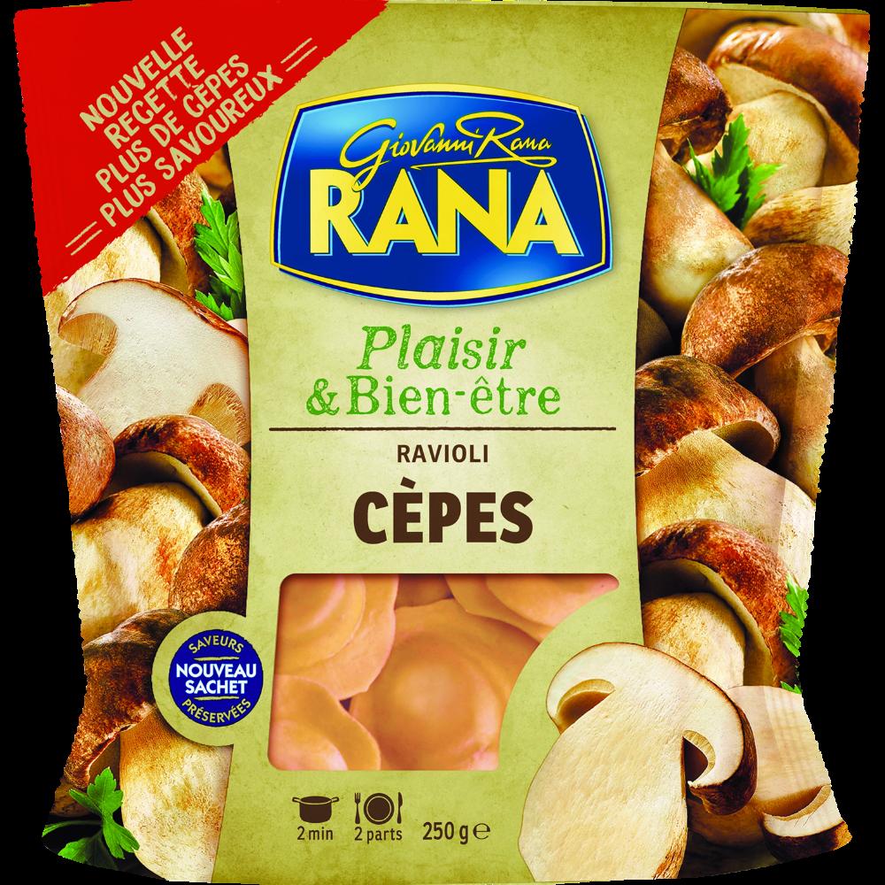 Ravioli aux cèpes, Rana (250 g)
