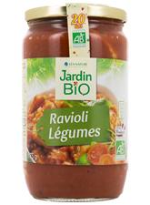 Ravioli aux légumes, Jardin Bio (675 g)