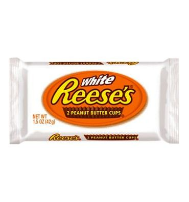 White peanut butter cups, Reese's (42 g)